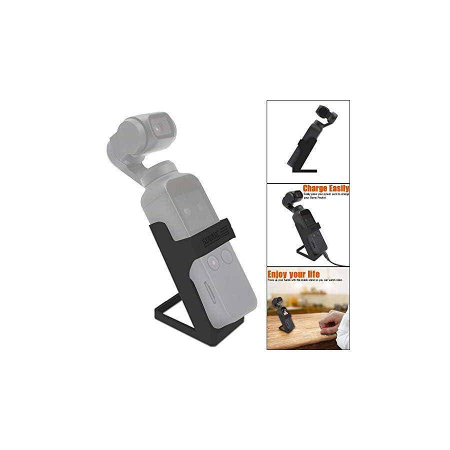BabiQ for DJI Osmo Pocket Accessories Desk Dock Lightweight Table Stand Holder Base
