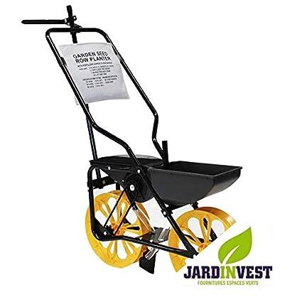Sembradora Agricole sobre ruedas con Chassis acero de 2 senos