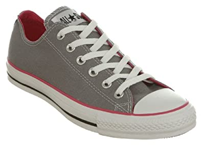 Image Unavailable. Image not available for. Colour  Converse All Star Ox Low  Grey pink Canvas ... e8140761d