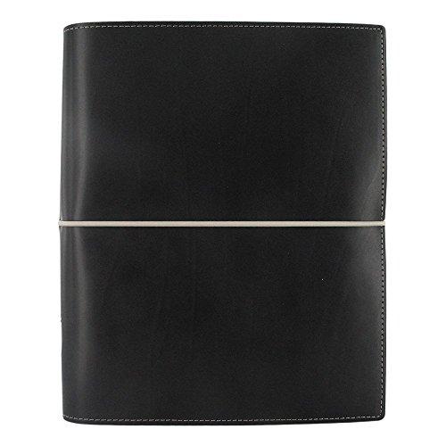 Filofax Domino (Filofax 2017 A5 Organizer, Domino Black, Paper Size 8.25 x 5.75 inches (C027868-17))