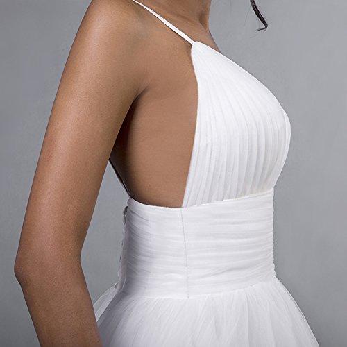 Sexy Sposa Da V Tulle Scollo Da Da Profondo Royalblue Amore A Abiti Damigella Promenade Sposa Dell'abito v5Xpgqw