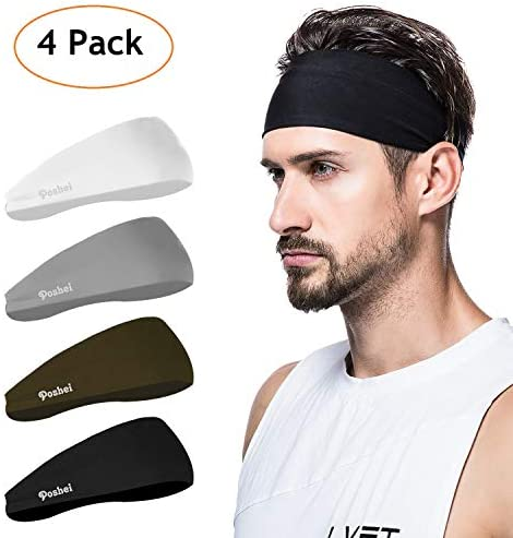 poshei Headband Sweatband Crossfit Basketball product image