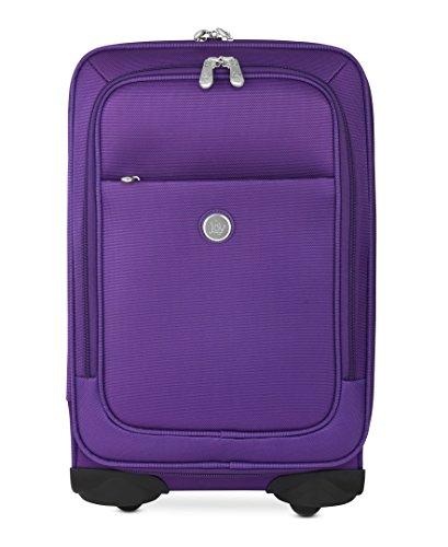 Joy Mangano Bobby Carryon Luggage, Purple