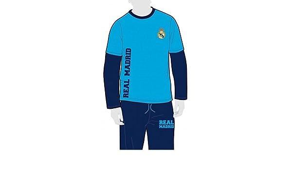 FUTBOL Pijama Real Madrid niño Invierno Tallas 2 a 14-2: Amazon.es: Deportes y aire libre