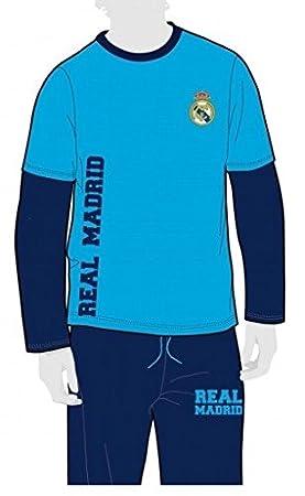 FUTBOL Pijama Real Madrid niño Invierno Tallas 2 a 14-2