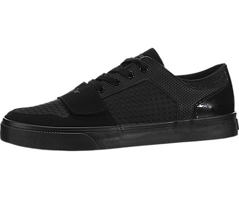 Creative Recreation Men's Cesario Lo Xvi Fashion Sneaker, Black Patent Ripstop, 8 M US