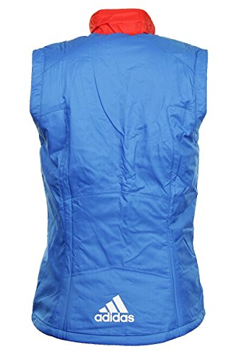 Blue Jacket Padded W red Womens Pl Vest Adidas a6nIwAq7I