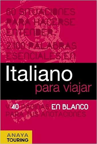 Italiano Para Viajar Frase Libro Y Diccionario De Viaje