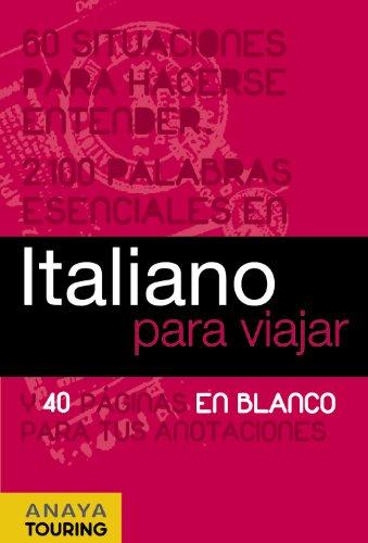 Italiano para viajar / Italian for Travel