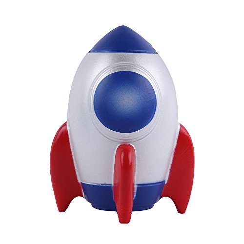 """Top Anboor 6.1"""" Squishies Jumbo Rocket Slow Rising Scented Kawaii Squishies Cute Toy for Collection Gift Blue"""