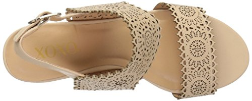 XOXO Wedge Nude Sandal Simmons Women's FrfF6