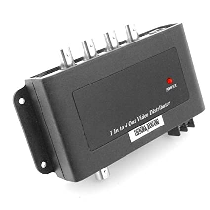 amazon com speco viddist 1 in 4 out video distribution amplifier 1amazon com speco viddist 1 in 4 out video distribution amplifier 1 input to 4 output video bnc splitter electronics