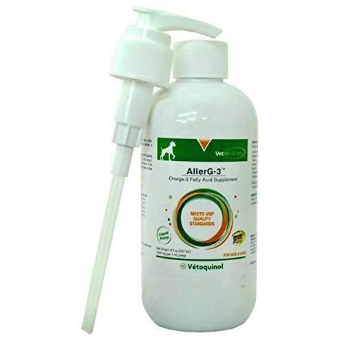 Capsules Aller G 3 - Vet Solutions Aller G-3 Omega-3 Fatty acids Liquid Pump (8oz)