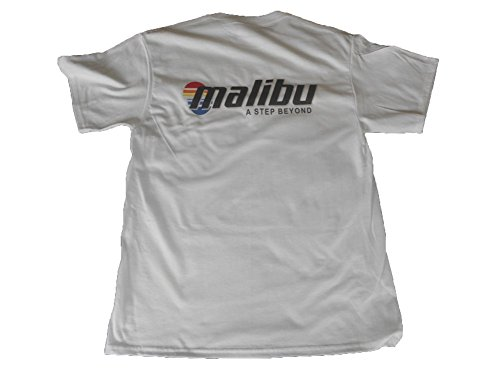 Malibu Boats Multi Color Logo Port And Company T Shirt  Xl