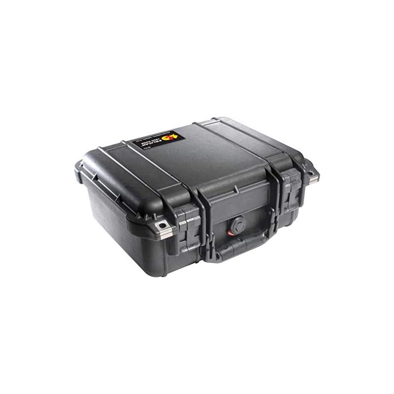 Pelican 1400 Case With Foam (Black)