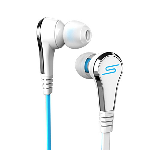 STREET by 50 Cent Wired In-Ear Headphones - White by SMS Audio