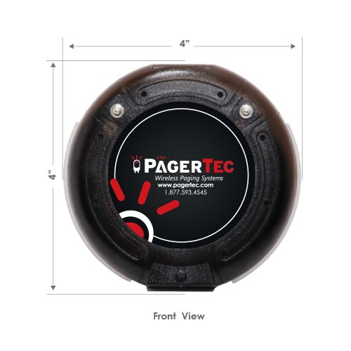 Long Range Pager Digital Coaster 2.0 Paging System, Restaurant Pager Coaster Style System,Red LED Lights (Set of 30) by Pagertec (Image #6)