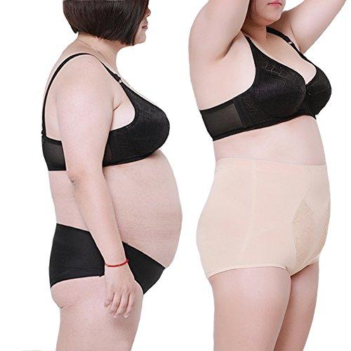 Waist Tummy Belly Slim Body Shape Wear (Skin Color) - 5