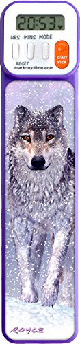 Mark-My-Time 3D Wolf Digital Bookmark and Reading Timer from Mark-My-Time