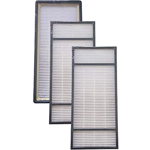 Mumaxun 3-pack Replacement HEPA Filter for Honeywell HRF-H2 / HRF-H1 Filter (H), fits Honeywell HEPA Tower Air Purifier HPA-050, HPA060BWM, HPA-150, HPA160, HPA060, HPA061-TGT, HHT-157C, HAP240
