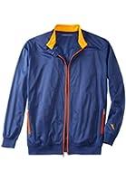 Kingsize Men's Big & Tall Full Zip Sweat Jacket By