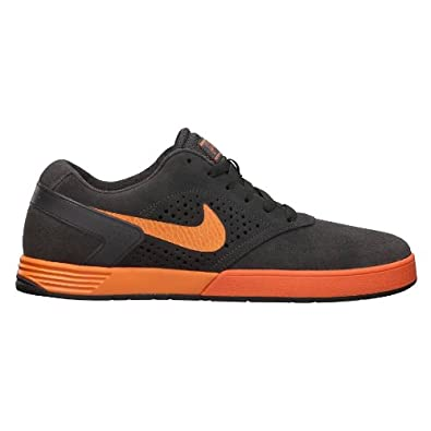 Nike 6.0 Paul Rodriguez 6 Grey Orange Lunar Skate Boarding Shoes 525133-080  [US