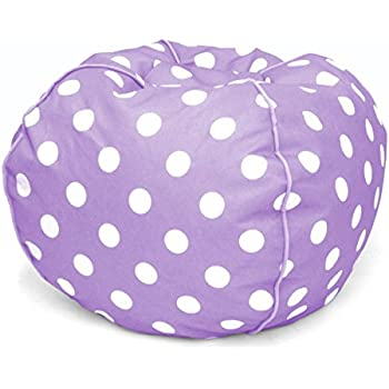 Phenomenal Purple Polka Dot Bean Bag Chair Avalonit Net Gmtry Best Dining Table And Chair Ideas Images Gmtryco