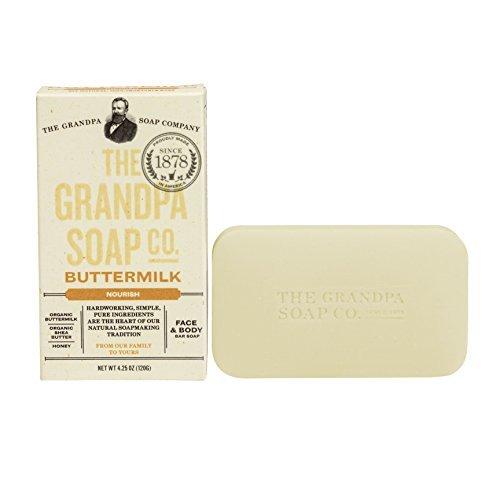 Grandpa Soap Co- Buttermilk (4.25 oz) by The Grandpa Soap - Grandpas Butter Soap
