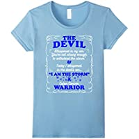 Colon Cancer Warrior T-Shirt - I am The Storm...