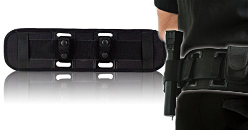 Support Duty - BackUpBrace Duty Belt Back Support (Phoenix Nylon) - For Use With Police Utility Belt - Reduce Strain, Pressure and Pain While Supporting Your Lower Back - Designed for Men & Women