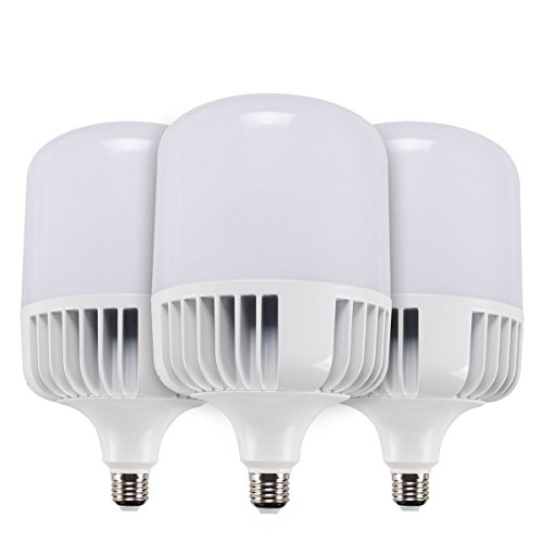 SUNTHIN (3-Pack) Daylight LED Bulbs, 5500K, 4000LM, 300W Replacement, Yard Light Bulb, LED Corn Light Bulb