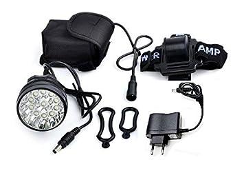 Luz delantera Foco frontal para Bici 16000 lumenes Linterna ...