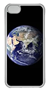 Customized Case Earth 1 PC Transparent for Apple iPhone 5C