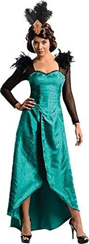 Rubie's oz The Great Powerful Evanora Dress Headpiece Adult Costume (Medium, Emerald)]()