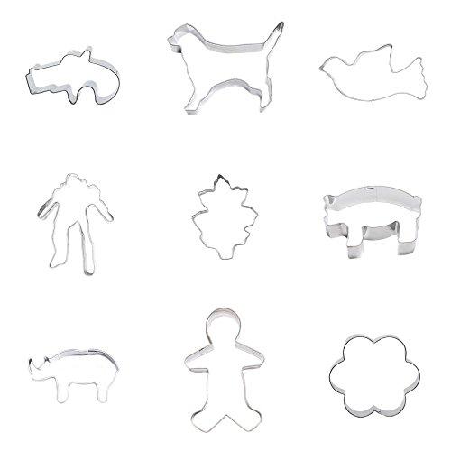 rhinoceros cookie cutter - 8