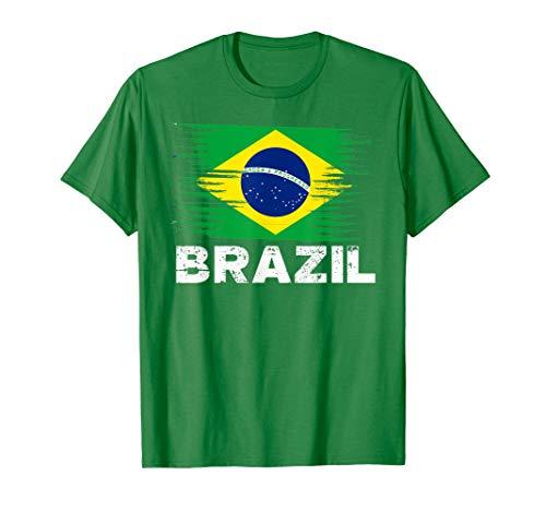 Brazil - Brazilian Flag Shirt | Sports Soccer Football Gift