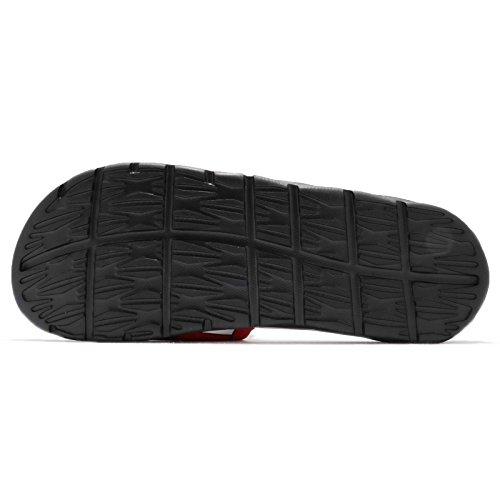 Nike Benassi Solarsoft Nba Mens Universiteit Rood / Wit / Zwart