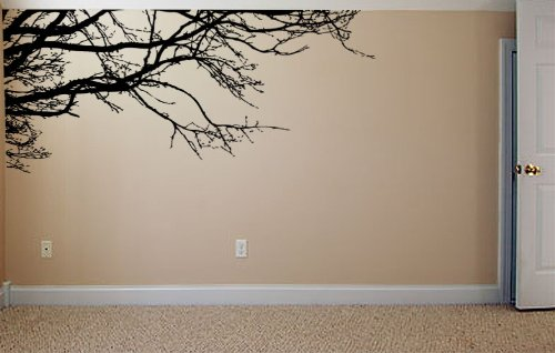 Large Tree Wall Decal Sticker   Semi Gloss Black Tree Branches, 44in Tall X Part 79