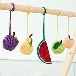 Nursery Baby Gym Mobiles Fruits Set of 5...