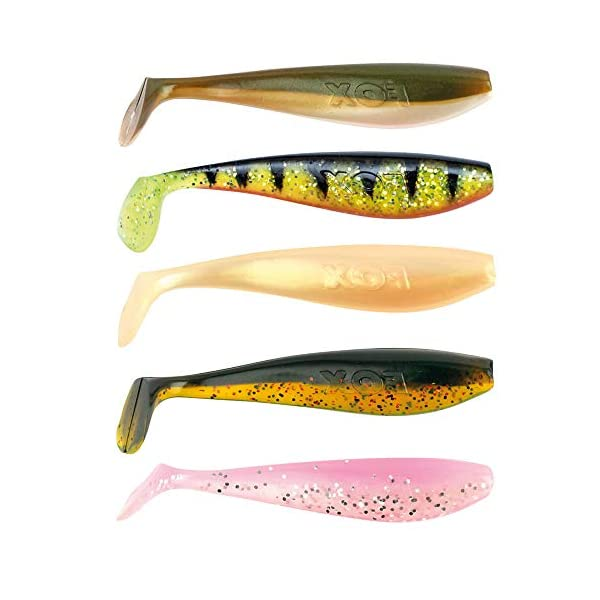 Mixed Paddle Tail soft Shads 14cm-Fox Rage Pro