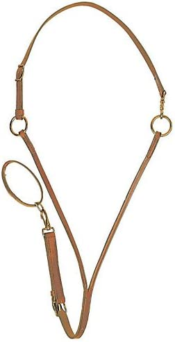 Tory Harness Leather Training Martingale