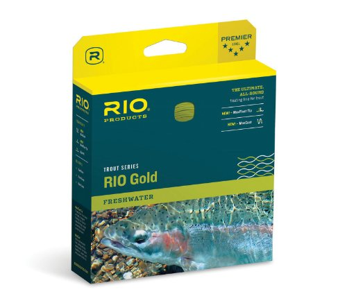 RIO Gold Fly Line - Moss/Gold WF5F