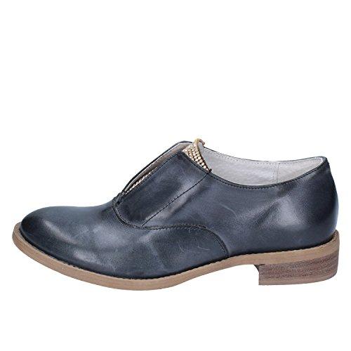 Chaussures Crown ville Bleu pour à lacets femme de dz00rXnx