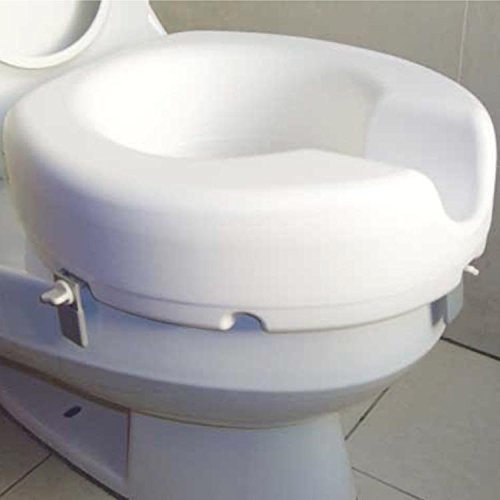 Raised Toilet Seat - 4 Inch by Shine International