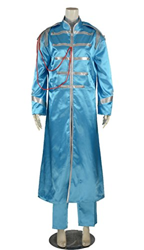 [RedstarCosplay The Beatles Sgt. Pepper Lonely Paul McCartney Cosplay Costume - Male XS] (Sgt Pepper Paul Costume)