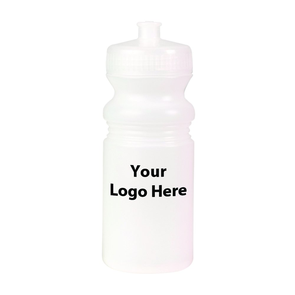 20 oz. Matte Sport Bottle - 100 Quantity - $2.40 Each - PROMOTIONAL PRODUCT / BULK / BRANDED with YOUR LOGO / CUSTOMIZED