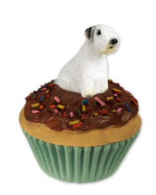 Conversation Concepts Sealyham Terrier Pupcake Trinket Box (Set of -