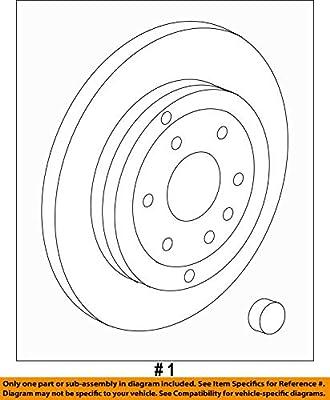 GM OEM Rear Brake-Rotor 22768973
