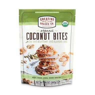 Creative Snacks Organic Coconut Bites (14 oz.) (Pack of 2) AS