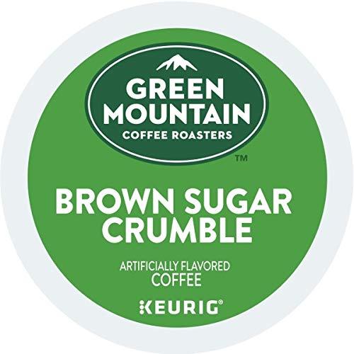 Green Mountain Coffee Roasters Brown Sugar Crumble, Single Serve Coffee K-Cup Pod, Flavored Coffee, 72 (Green Coffee Best Share)
